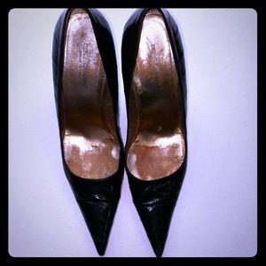 Dolce & Gabbana eel skin heels